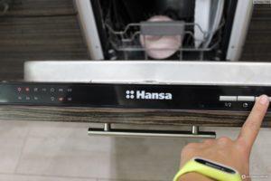 Распространенная неисправность посудомоечной машины Ханса